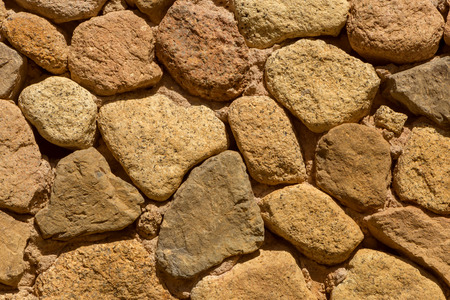 wall of edifice made of stones