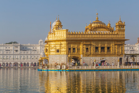 The Golden Temple in Amritsar, India Stock Photo