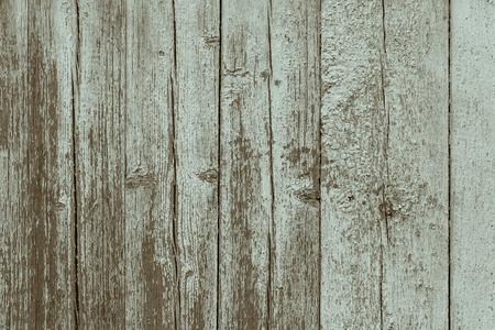 close-up van versleten houten hek Stockfoto