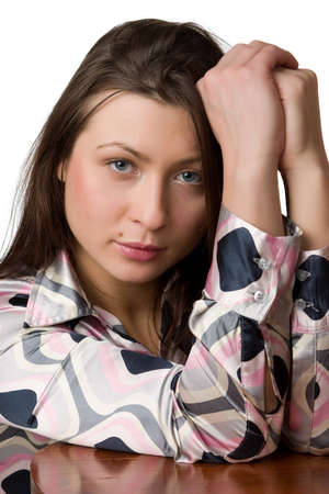 Portrait of beauty girl. Stock Photo - 13857095