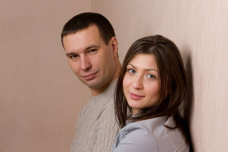 heterosexuality: Portrait of young couple.