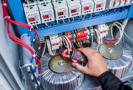 Electrical measurements with multimeter tester. Electrical background.