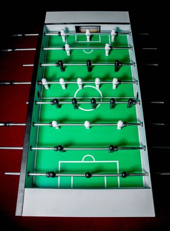 Football (soccer). Slot machine Stockfoto