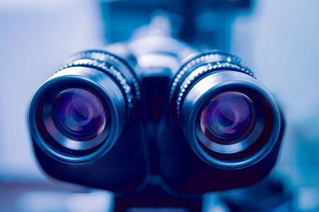Ophthalmic equipment. Medical laboratory. Modern medical technology. Standard-Bild