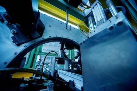 Factory for aluminum and PVC windows and doors production.