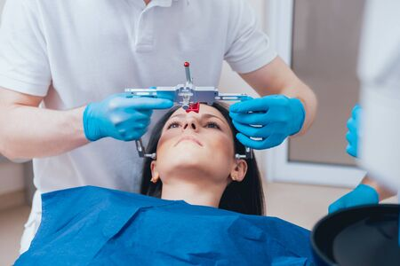 Installation of the face-bow. Functional diagnostics. Modern technology