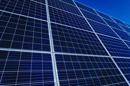 Solar panels, photovoltaic alternative electricity source. Background.