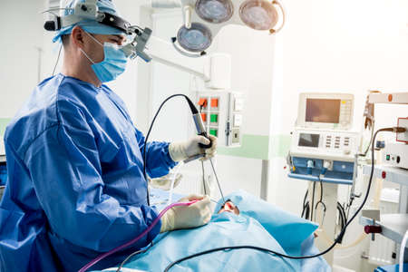 Functional rhinosurgery to restore nasal breathing with coblation technology.