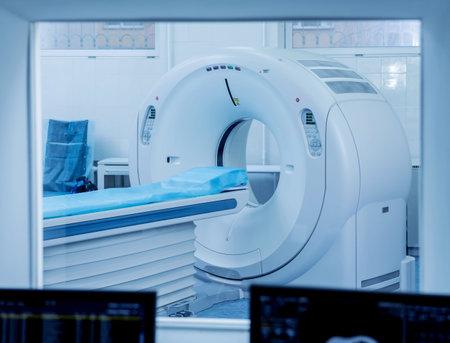 Computer tomography diagnostics in modern medical center