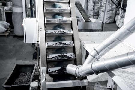Roasted sunflower seeds equipment at modern factory