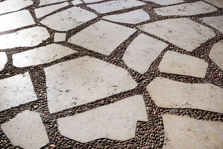 Beautiful overlay texture of old dirty wall Standard-Bild