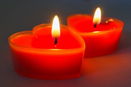 candle close up as a macro background. High quality photo Banque d'images
