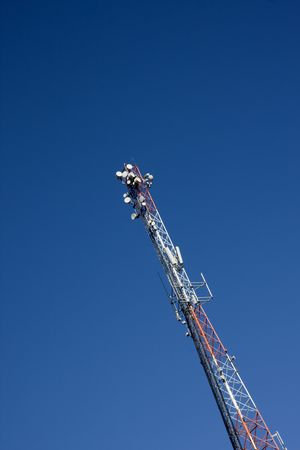 Communication Tower Stock Photo - 5219859