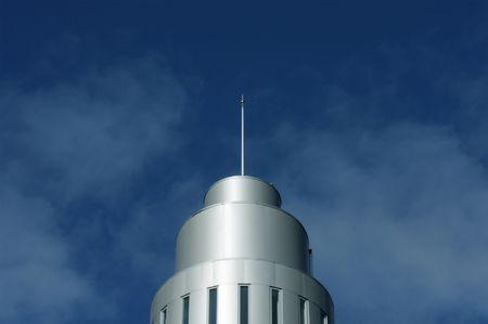 flagstaff: Modern dome and flagstaff