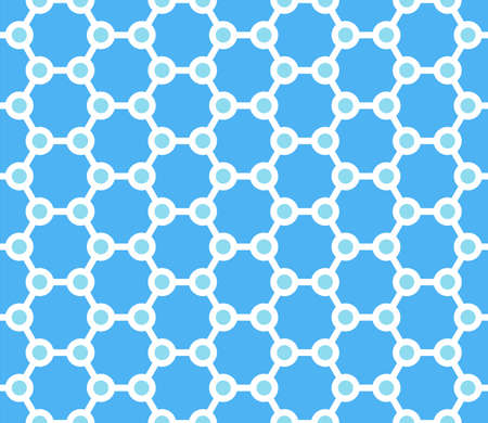 Seamless patterns set. Geometric textures with optical illusion effect. Vector art. Illustration