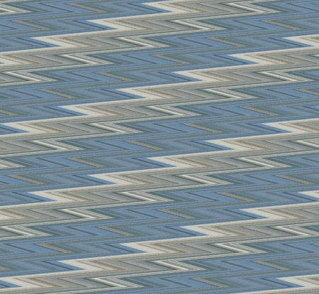 Fractal zig-zag background in shades of blue, brown, and white that resembles lightning bolts. Stock Photo