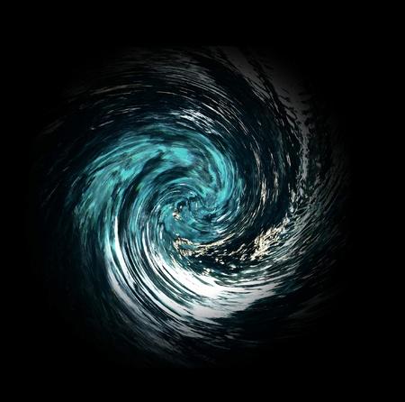 허리케인이나 토네이도 추상 파편 소용돌이에 들어갔습니다 제안합니다. 흐림 효과 속도를 나타냅니다. 자연 봄의 사진에서 렌더링. 검정색 배경입니 스톡 콘텐츠