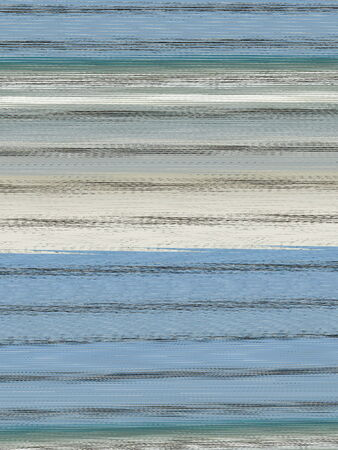 Striped background generated from sky, sea, and barbed wire  Shades of blue   brown with white and black accents make up the textured bands