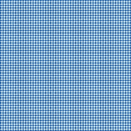 Computer-generated basket weave pattern in crisp blue and white