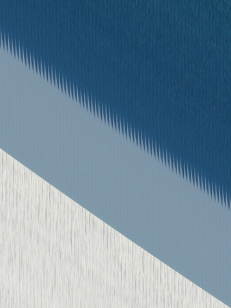 oriented: Abstract of blue and white with irregular lines and spikes for texture. Can be oriented in any direction. Stock Photo