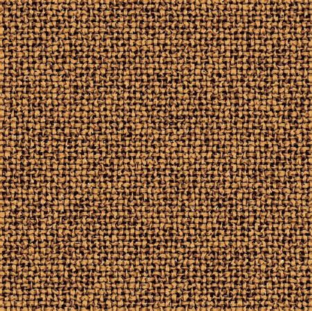 Repeated braiding of irregular textured strands creates a 3-D basket weave pattern in brown with white accents that resembles tree bark. Stock Photo