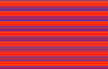 Bright neon background with stripes of varying widths, primarily in shades of pink, blue, purple, red, orange, and yellow. Orients any direction. Stock Photo