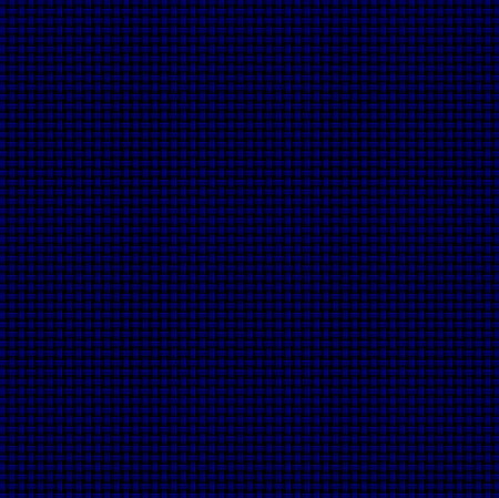 Computer-generated basket weave pattern in dark blue on black background. Light lines and white accents add dimension.