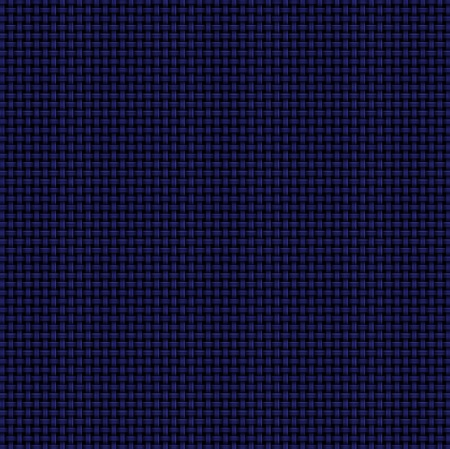 Dark Blue Woven Abstract Background. Computer-generated basket weave pattern in dark blue on black background. Light lines and white accents add dimension.