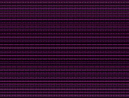 This luminous background is a textured grid formed by intersecting vertical and horizontal black and magenta strands of varied intensity, numbers, and widths.