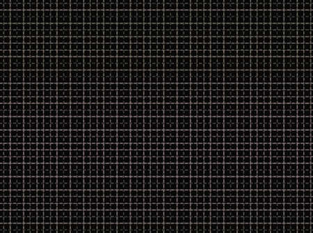 Intersecting horizontal and vertical bars create a grid pattern in shades of brown on black background.