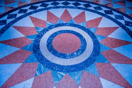centric: Geometric marble pattern, background