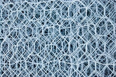 pile of aluminium mesh photo