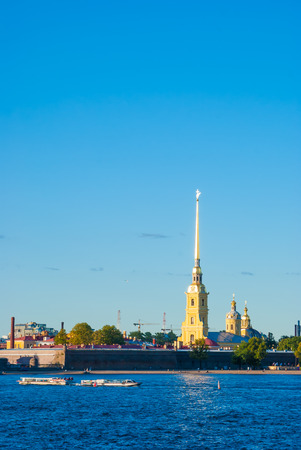 The Peter and Paul Fortress, Saint Petersburg, Russia photo
