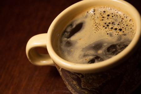 A cup of coffee photo