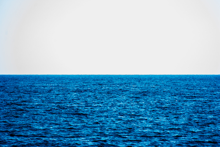 boundless: boundless sea surface, only blue water