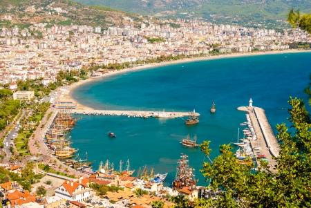 city harbor of Alanya, Antalya, Turkey