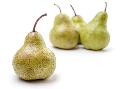 Four Pears isolated on a white background Stock Photo - 23122023
