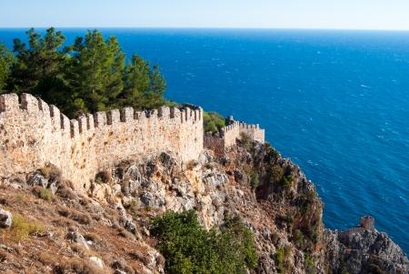 castle of Alanya, Antalya, Turkey