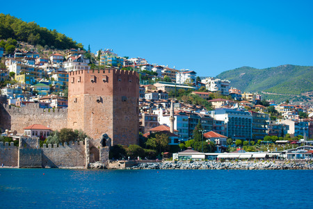 Kizil Kule (Red Tower) in Alanya, Antalya, Turkey