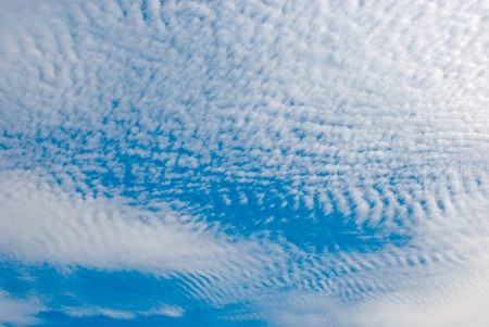 stratus: cirrus clouds Stock Photo