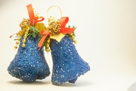christmas bells on white Stock Photo - 24550153