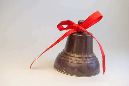 christmas bells on white Stock Photo - 24550167