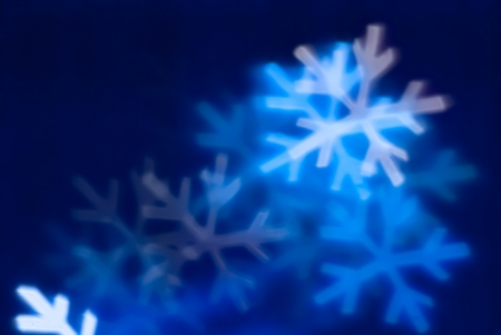 snowflakes, colorful background, out of focus photo