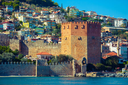 Kizil Kule (Red Tower) in Alanya, Antalya, Turkey photo