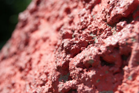 the depth: painted concrete, macro with shallow depth od field, background texture Stock Photo