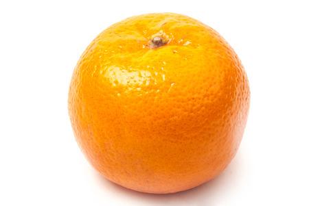 mandarine: single orange mandarine
