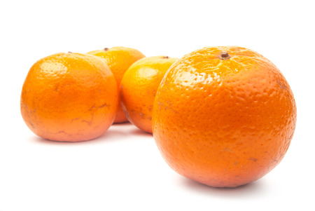 orange mandarines photo