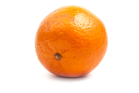 single orange mandarine photo
