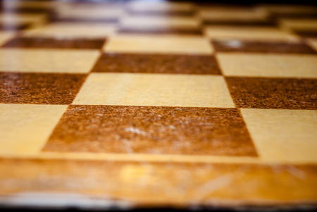 old grungy checkerboard photo