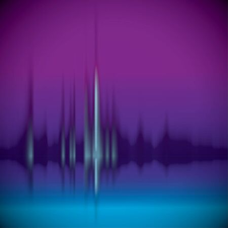 to pulsate: Equalizer background. Music wave.